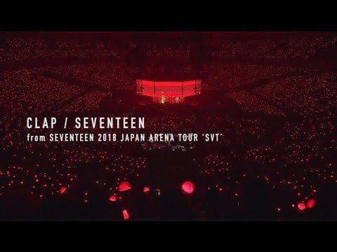 [TEASER]SEVENTEEN - CLAP (from DVD&Blu-ray『SEVENTEEN 2018 JAPAN ARENA TOUR 'SVT'』)