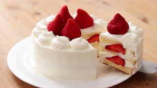 Strawberry CakeChantilly:Fraise & Plain Genoise|HidaMari Cooking