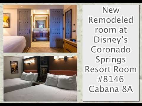Refurbished Room Tour Disney's Coronado Springs Resort