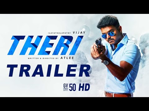 Theri Tamil Movie Official Trailer HD | Vijay, Samantha, Amy Jackson | Atlee | GV Prakash | Vijay 59