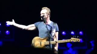 Sting Live Rockhal 01-04-2017 Luxembourg. One Fine Day