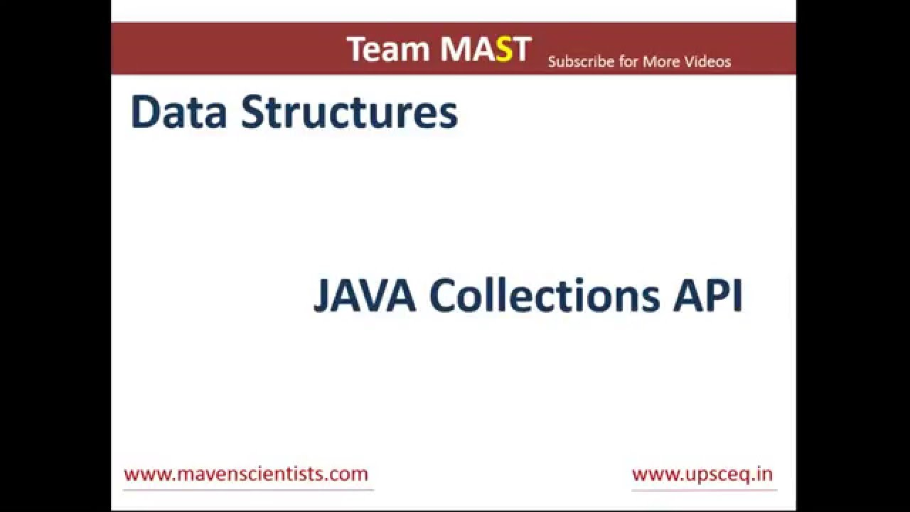 Java collections api overview team mast youtube java collections api overview team mast baditri Images