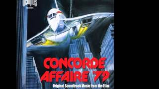 CONCORDE AFFAIRE 79 SOUNDTRACK - STELVIO CIPRIANI - 1979.