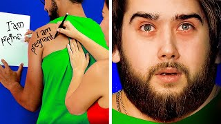 I'M PREGNANT! FUNNY DIYs AND PRANKS FOR HIM AND HER