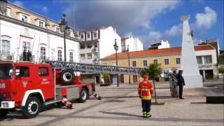 португалия. Dia do bombeiro portugues em portimao