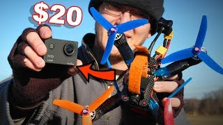 World's Cheapest Action Cam (Pretty Awesome for $20) - Furibee F80 - TheRcSaylors