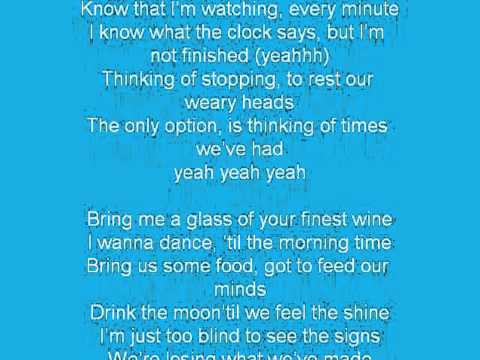 SIX60- Finest Wine - Lyrics (unofficial)