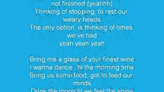 SIX60- Finest Wine - Lyrics (un)