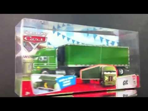 Cars 2 gil camin juguete miniatura mattel youtube - Cars en juguetes ...