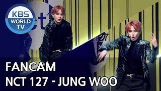 [FOCUSED] NCT 127's JUNGWOO - Regular [Music Bank / 2018.10.12]