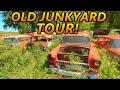 Forgotten Old Car Junkyard Tour! 1950s   1960s Cars Galore! (old Car Junkyards) Pt. 2