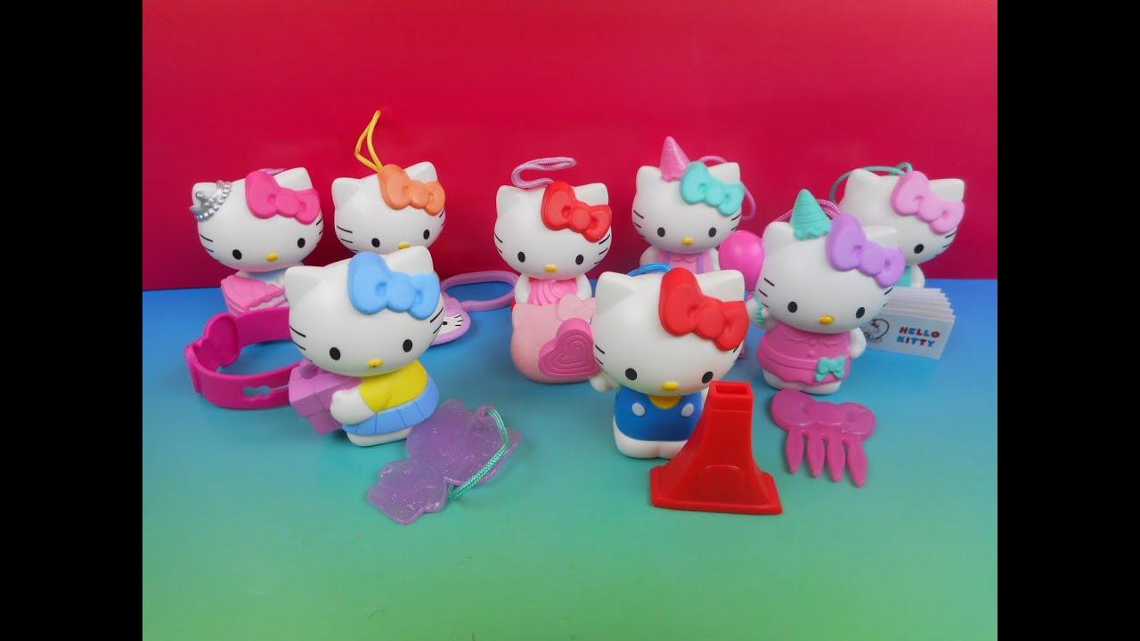 Hello Kitty Mcdonald S Toys : Hello kitty mcdonalds happy meal set of with recall youtube