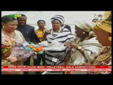 First Lady meets Queen Mothers in Greater Accra Region