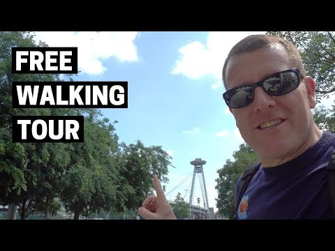 BRATISLAVA Free Walking Tour | A Day in the Slovak Capital