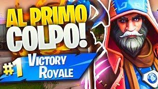 VITTORIA REALE AL PRIMO COLPO CON NUOVA SKIN MAGICA!! Fortnite Battle Royale