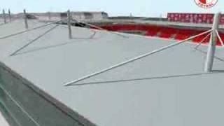 New SK Slavia Praha Stadium