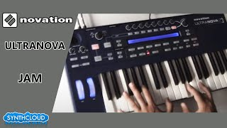Jamming on Novation Ultranova by S4K Team ( Space4Keys Keyboard Solo )