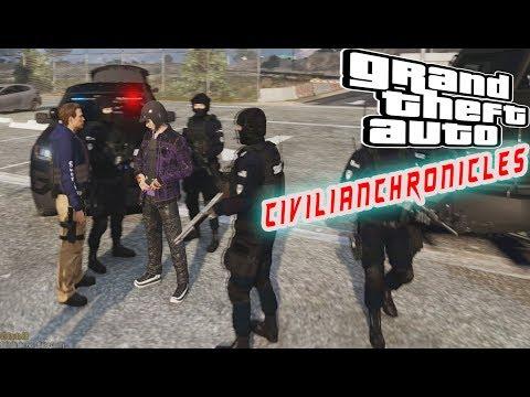 DOJ CIVLIAN CHRONICLES #101 Prision Riot ! Ride Along