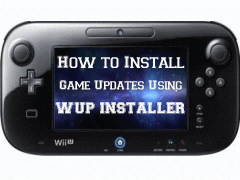 How to install Wii U game updates using WUP Installer