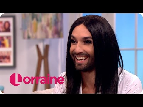 Conchita Wurst Has A Laugh With Lorraine Kelly | Lorraine