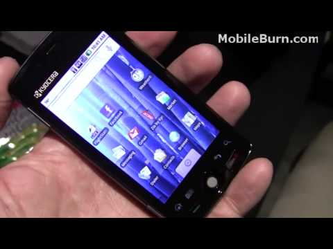 Kyocera Zio Android smartphone - CTIA 2010 first look