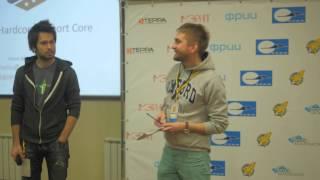 Demo day бизнес-катализатора StartupSamara. Выступление Ильи Афанасьева. Проект Sport Core.