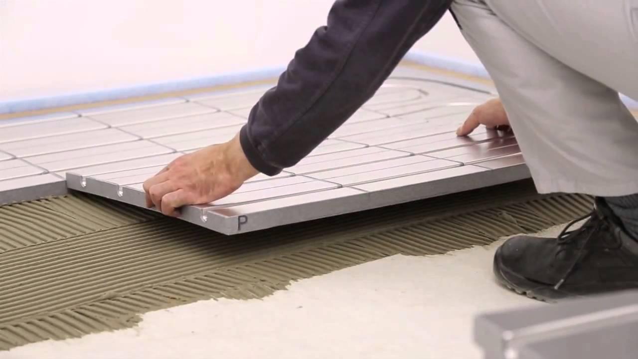 Gutjahr sistema per pavimentazione riscaldata a basso spessore
