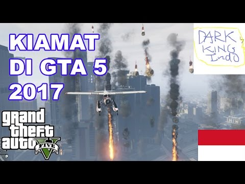 GTA 5 MOD INDONESIA #1 - Hujan Meteor kiamat!! GTA 5