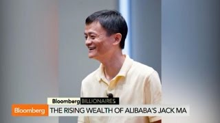 The Rising Wealth of Alibaba's Jack Ma