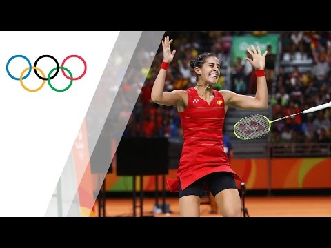 Marin becomes first Spaniard to win badminton gold