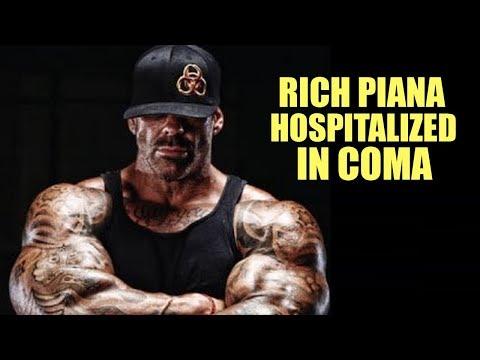 Rich Piana in coma