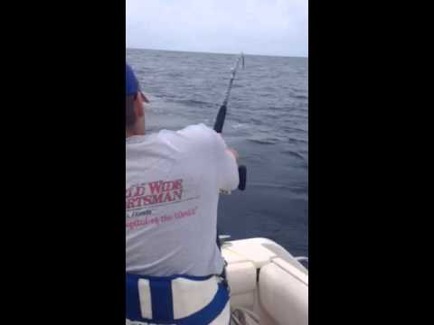Montauk NY - Offshore Shark Fishing 2014