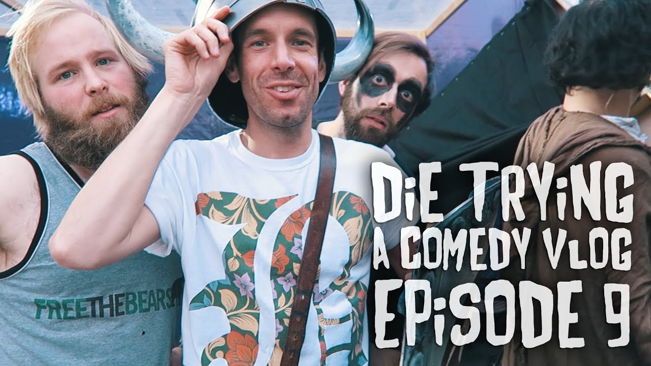 SO MANY GRUESOME DEATHS (Knightmare Live) - Die Trying Episode 9 - A Comedy Vlog