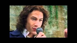 Watch Heath Ledger I Love You Baby video