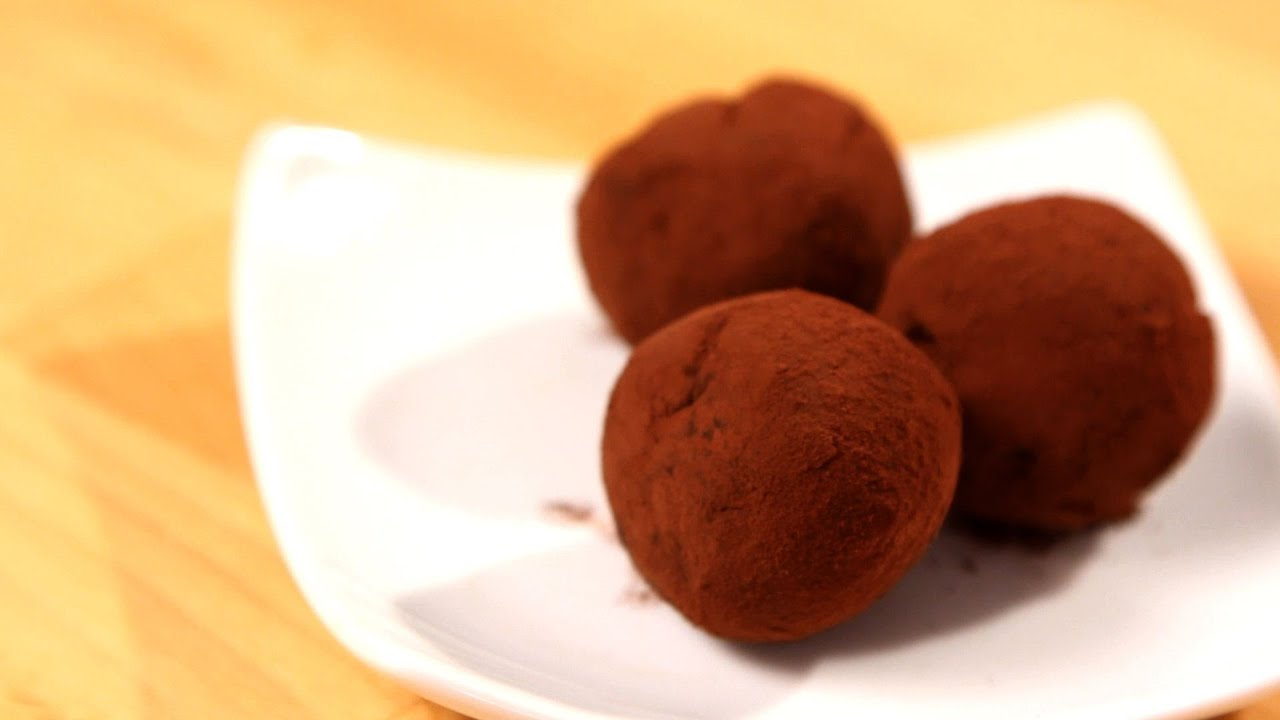 How To Make Chocolate Truffles Candy Making Youtube