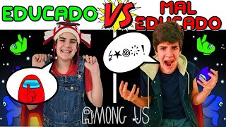 EDUCADO vs MAL EDUCADO NO AMONG US NA VIDA REAL | PEDRO MAIA