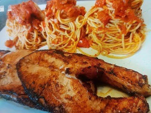 saumon-mariné-(teriyaki)-/-سمك-السلمون-ماريني