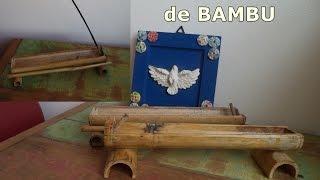 Porta Incenso de Bambu Simples – Faça você mesmo – Graça Tristão