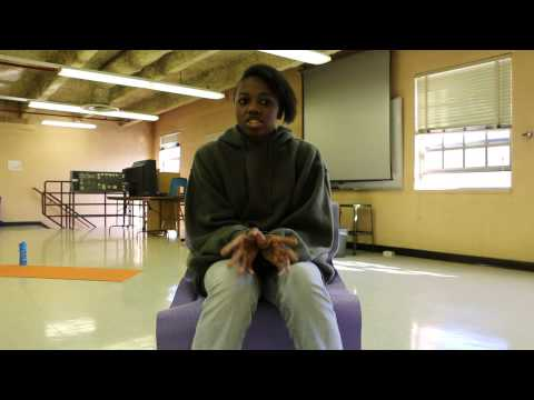 Anger Management - Interview with student of Emily Griffith High School