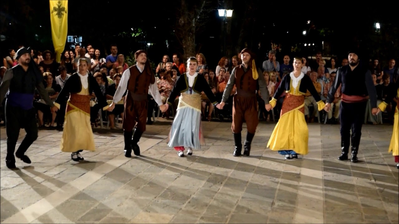 To Πολιτιστικο Λαογραφικο Σωματειο  Μωραιτες χόρεψε προς τιμήν της  Παναγίας του Κύκκου