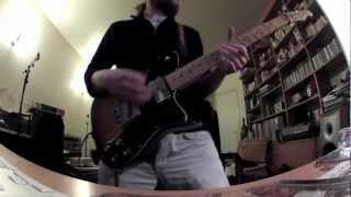 The Dillinger Escape Plan - Prancer (guitar cover)