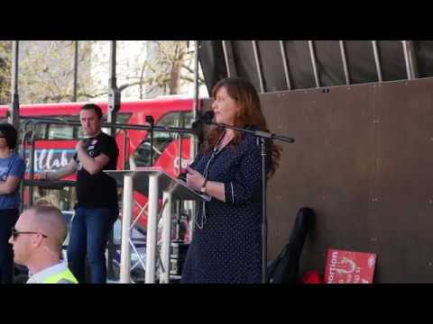 Clare McCullough speaks to Christian Concern at March For Life UK