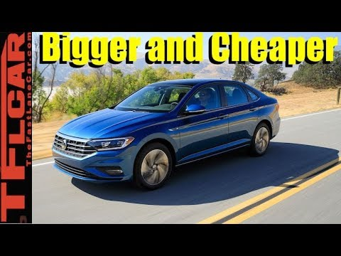 Meet the Bigger and Cheaper 2019 VW Jetta