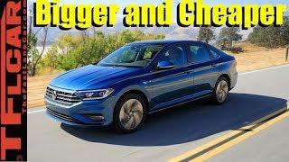 Meet The Bigger And Cheaper 2019 VW Jetta