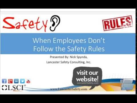 lancaster-safety-when-employees-don-t-follow-the-safety-rules-summary