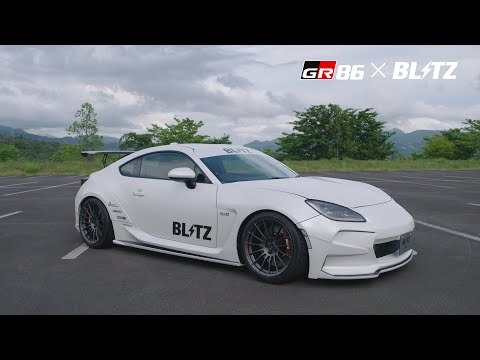 【GR 86】カスタムパーツメーカームービー(ブリッツ)