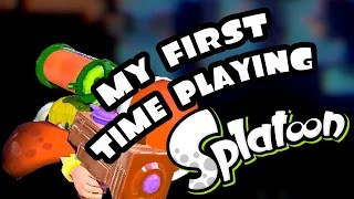My First Time Playing Splatoon