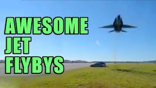 Low Fighter Jet Flybys to get you through the week