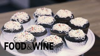 A Creative Way to Frost Your Cupcakes  | Mad Genius Tips | Food & Wine