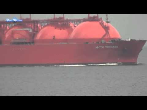 MERCHANT NAVY ARCTIC PRINCESS LNG TANKER SHIP